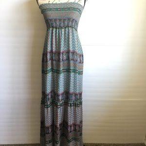 BCBG MaxAzria Floral Maxi Dress